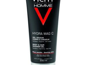 Vichy Homme Hydra Mag C Τονωτικό Gel Ντους για τον Άντρα 200ml