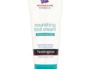 Neutrogena Nourishing Foot Cream Θρεπτική Κρέμα Ποδιών για Ξηρό – Ταλαιπωρημένο Δέρμα 100ml
