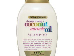 OGX Coconut Miracle Oil Shampoo Σαμπουάν Αποκατάστασης για Ταλαιπωρημένα Μαλλιά 385ml