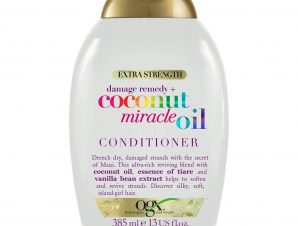 OGX Coconut Miracle Oil Conditioner Κρέμα Μαλλιών Αποκατάστασης για Ταλαιπωρημένα Μαλλιά 385ml