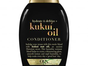 OGX Kukui Oil Conditioner Hydrate & Defrizz Μαλακτική Ενυδατική Κρέμα Μαλλιών Κατά του Φριζαρίσματος 385ml