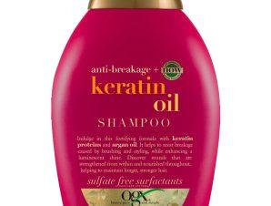 OGX Keratin Oil Shampoo Anti Breakage Σαμπουάν Ενδυνάμωσης με Κερατίνη & Έλαιο Argan Κατά του Σπασίματος της Τρίχας 385ml