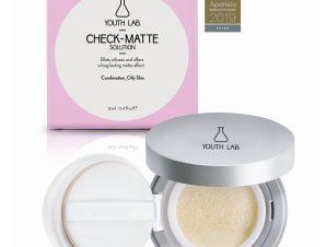 Youth Lab Check-Matte Compact Case Πούδρα για Μικτό-Λιπαρό Δέρμα 12ml