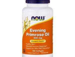 Now Foods Evening Primrose Oil 500mg Συμπλήρωμα Διατροφής με Έλαιο Νυχτολούλουδου 100 Softgels