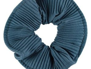 Medisei Dalee Hair Μπλε Πλισέ Λαστιχάκι Μαλλιών Από Μαλακό Ύφασμα 1 Τεμάχιο