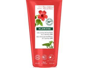 Klorane Nourishing Shower Gel With Organic Cupuacu Butter With Hibiscus Flower Απαλό Αφρόλουτρο με Άνθος Ιβίσκου 200ml