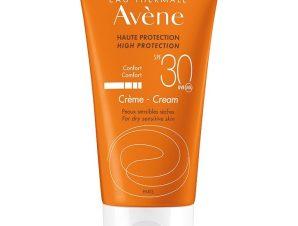 Avene High Protection Cream Spf30 Υψηλή Αντηλιακή Προστασία του Ευαίσθητου Δέρματος του Προσώπου 50ml