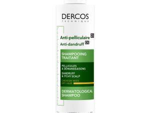 Vichy Dercos Shampoo Αντιπυτιριδικό Σαμπουάν Κανονικά – Ξηρά Μαλλιά 200ml