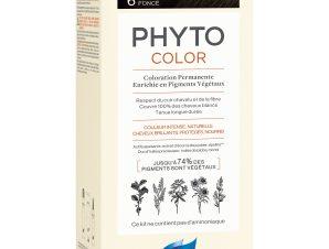 Phyto PhytoColor Coloration Permanente η No1 Μόνιμη Βαφή Μαλλιών Χωρίς Χρωστικές Ουσίες & Αμμωνία – 6 Ξανθό Σκούρο