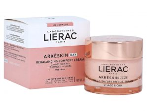 Lierac Arkeskin Rebalancing Comfort Day Cream Κρέμα Ημέρας που Διορθώνει τα Σημάδια της Εμμηνόπαυσης στο Δέρμα 50ml