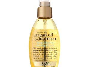 OGX Argan Oil of Morocco Reviving Dry Oil Πολύτιμο Ξηρό Έλαιο Αναδόμησης σε Spray για Λάμψη στα Μαλλιά 118ml