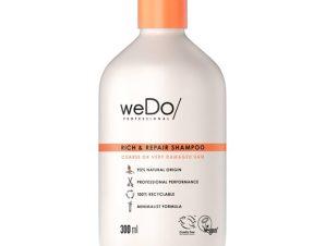 weDo Rich & Repair Shampoo Coarse or Very Damaged Hair Σαμπουάν Θεραπείας για Μείωση του Σπασίματος της Τρίχας 300ml