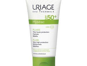 Uriage Eau Thermale Hyseac Fluide Spf50+ Ενυδατική Ματ Κρέμα Υψηλής Αντηλιακής Προστασίας για Μικτές Λιπαρές Επιδερμίδες 50ml