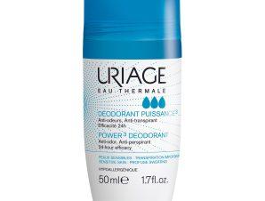 Uriage Eau Thermale Power 3 Deodorant Προσφέρει Αποτελεσματική Δράση Ενάντια στην Εφίδρωση και Καταπολεμά τις Οσμές 50ml