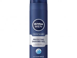 Nivea Men Protect & Care Shaving Gel Ανδρικός Αφρός Ξυρίσματος σε Μορφή Τζελ 200ml