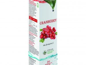 Power of Nature Cranberry Stevia 20 Effer. tabs