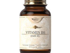 Sky Premium Life Vitamin D3 2500iu Συμπλήρωμα Διατροφής Βιταμίνης D 60 Tabs