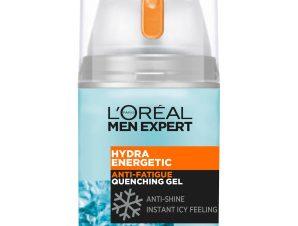 L'oreal Paris Men Expert Hydra Energetic 24H Anti-Shine Quenching Gel Ενυδατική Κρέμα Gel Κατά της Λιπαρότητας 50ml