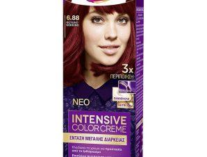 Schwarzkopf Palette Intensive Color Creme Επαγγελματική Μόνιμη Κρέμα Βαφή Μαλλιών, Απόλυτη Κάλυψη & Αποτέλεσμα Διάρκειας – 6.88 Φωτεινό Κόκκινο