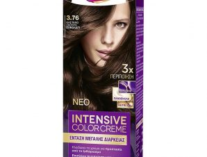 Schwarzkopf Palette Intensive Color Creme Επαγγελματική Μόνιμη Κρέμα Βαφή Μαλλιών, Απόλυτη Κάλυψη & Αποτέλεσμα Διάρκειας – 3.76 Καστανό Σκούρο Σοκολατί