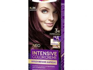 Schwarzkopf Palette Intensive Color Creme Επαγγελματική Μόνιμη Κρέμα Βαφή Μαλλιών, Απόλυτη Κάλυψη & Αποτέλεσμα Διάρκειας – 4.26 Δαμασκηνί