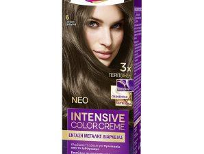 Schwarzkopf Palette Intensive Color Creme Επαγγελματική Μόνιμη Κρέμα Βαφή Μαλλιών, Απόλυτη Κάλυψη & Αποτέλεσμα Διάρκειας – 6 Ξανθό Σκούρο