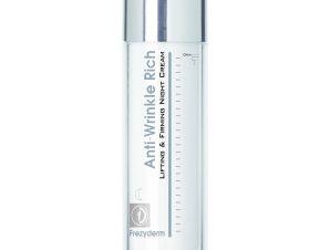 Frezyderm Anti-Wrinkle Rich Night Cream 45+ Αντιρυτιδική Κρέμα Νύχτας με Συσφικτική & Επανορθωτική Δράση 50ml