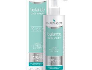Pharmasept Balance Body Cream for Face & Body Κρέμα Καθημερινής Χρήσης για Πρόσωπο & Σώμα για Ξηρή, Πολύ Ξηρή Επιδερμίδα 250ml