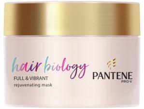 Pantene Hair Biology Full & Vibrant Rejuvenating Mask Μάσκαγια Λεπτά ή με Αραίωση & Βαμμένα Μαλλιά 160ml