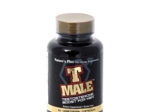 Nature's Plus T Male Συμπλήρωμα Διατροφής για την Αύξηση της Τεστοστερόνης 60caps