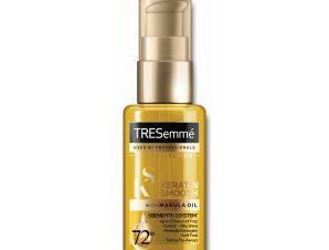 TRESemme Keratin Smooth With Marula Oil Έλαιο Κερατίνης για Απαλά & Λαμπερά Μαλλιά & Έλεγχο του Φριζαρίσματος 50ml
