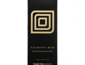 Thank You Farmer Country Man Revitalizing Emulsion, Ανδρικό Ενυδατικό, Αναζωογονητικό Γαλάκτωμα Προσώπου μη Λιπαρής Υφής 130ml