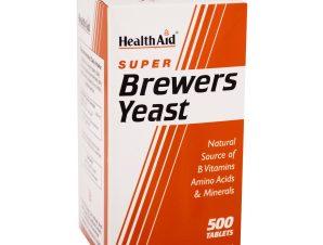Health Aid Brewers Yeast Μαγιά Μπύρας 300mg – 500 tabs