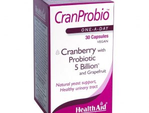 Health Aid Cran Probio Μοναδικό Υψηλής Αντοχής Προβιοτικό Συμπλήρωμα 30tabs