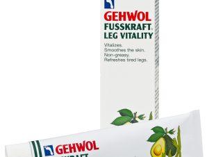 Gehwol Fusskraft Leg Vitality Αναζωογονητική και Τονωτική Κρέμα Ποδιών 125ml