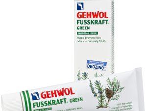 Gehwol Fusskraft Green Αντιιδρωτική και Αναζωογονητική Κρέμα Ποδιών 75ml