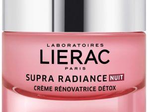 Lierac Supra Radiance Nuit Creme Renovatrice Detox Κρέμα Νυκτός για Αποτοξίνωση & Ανανέωση 50ml