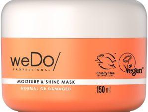 weDo Moisture & Shine Mask for Normal or Damaged Hair Μάσκα Θρέψης για Κανονικά & Ταλαιπωρημένα Μαλλιά 150ml