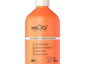 weDo Moisture & Shine Shampoo for Normal or Damaged Hair Σαμπουάν Θρέψης για Κανονικά & Ταλαιπωρημένα Μαλλιά 300ml
