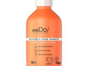weDo Moisture & Shine Shampoo for Normal or Damaged Hair Σαμπουάν Θρέψης για Κανονικά & Ταλαιπωρημένα Μαλλιά 100ml