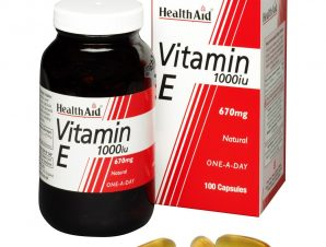 Health Aid Vitamin E 1000 i.u. Ενεργό Αντιοξειδωτικό 30tabs