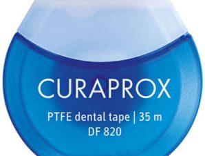 Curaprox DF 820 PTFE Dental Tape Οδοντική Ταινία 35 Μέτρα