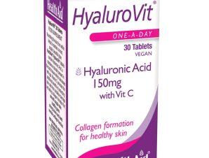 Health Aid Hyalurovit 150mg Επανόρθωση Της Επιδερμίδας 30tabs