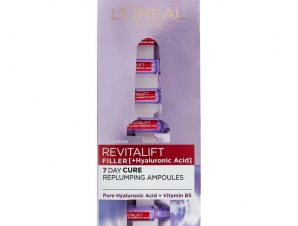 L'oreal Paris Revitalift Filler Renew Replumping Ampoules With Hyaluronic Acid 7 amps