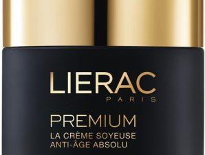 Lierac Premium La Creme Soyeuse Legere, Μεταξένια Κρέμα Απόλυτης Αντιγήρανσης Promo 50ml