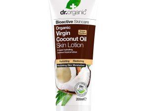 Dr Organic Organic Virgin Coconut Oil Skin Lotion Γαλάκτωμα Σώματος με Βιολογικό Έλαιο Καρύδας 200ml